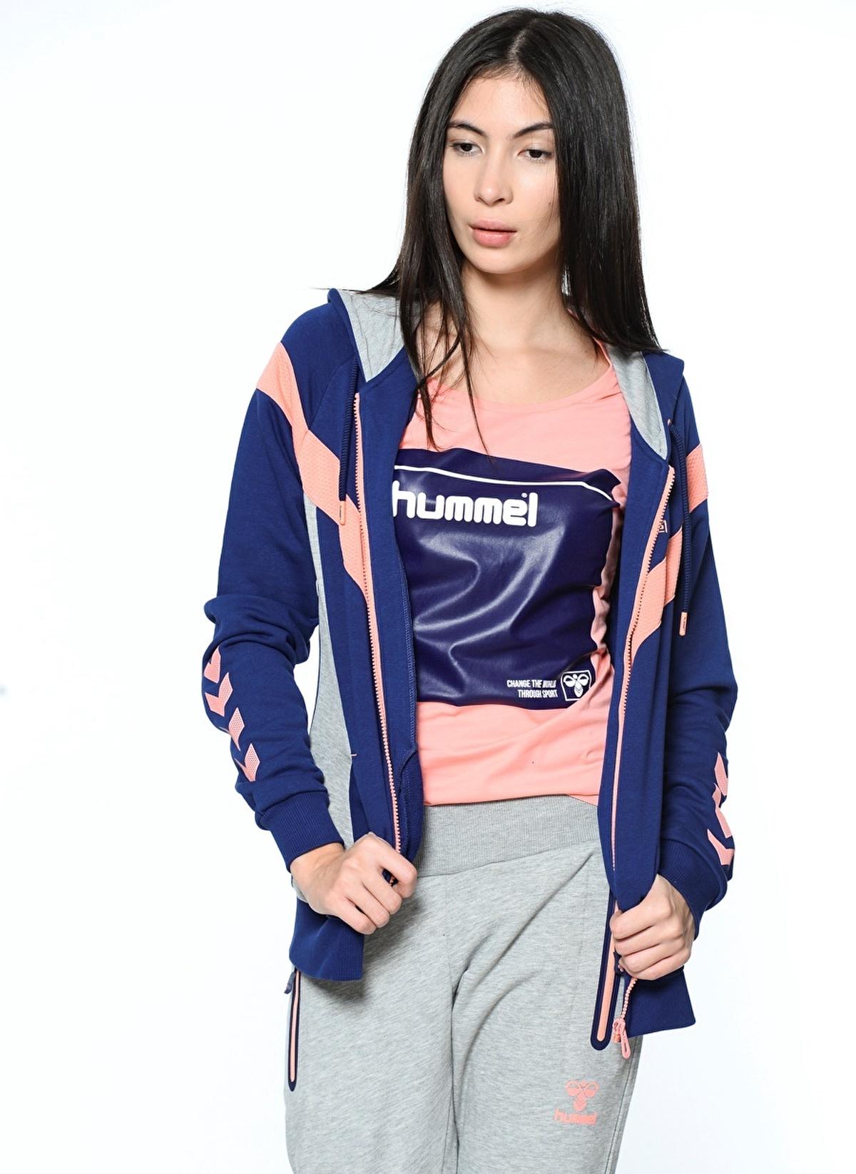 Hummel Fermuarlı Kapüşonlu Sweatshirt 33496-8274 Demi Zip Hoodie – 119.95 TL